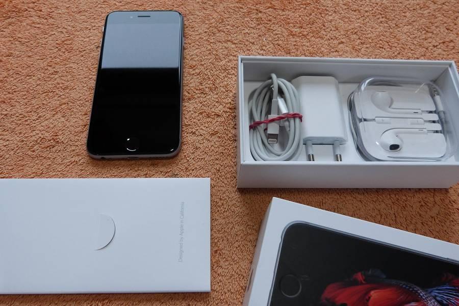 apple iphone 6s 16gb grau silber 4 7 zoll sehr gut komplett ios lte gps ebay. Black Bedroom Furniture Sets. Home Design Ideas