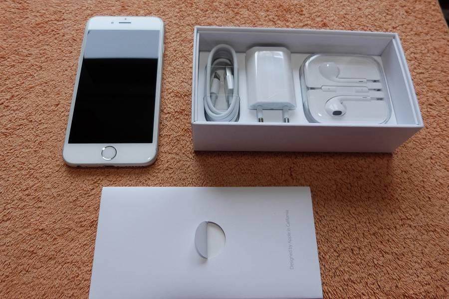 apple iphone 6s 128gb weiss 4 7zoll wie neu ios lte gps nfc retina 12mp 4 ebay. Black Bedroom Furniture Sets. Home Design Ideas